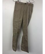Dickies Khaki Big Boys Waist Slim Strech Pant, 12 - $9.74