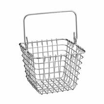 InterDesign Century Works Wire Organizer Basket with Handle, 7 x 7, Chrome - $27.15