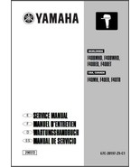 Yamaha F40 4-Stroke Outboards Service Manual CD - F40B F40MH F40ER F40TR F40BED - $12.99