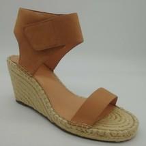 Vince Camuto Womens Levista Sandy Natural Wedge Sandals Sz 10W NEW - $39.59