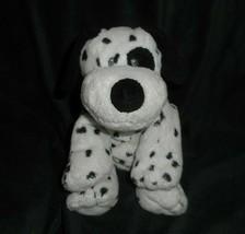 Ty Pluffies 2007 Dotters Dalmatian Puppy Dog Black Spot Stuffed Animal Plush Toy - $36.47