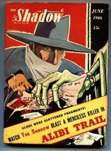 Shadow 1946 JUN-high grade- Street And SMITH-RARE Pulp Fn+ - $200.06