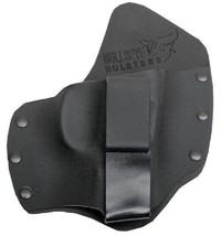 Glock 36 Holster LEFT IWB Kydex & Leather Hybrid Tuckable - NWT - $24.00