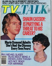 ORIGINAL Vintage February 1978 TV Radio Talk Magazine Shaun Cassidy Osmonds - $18.51