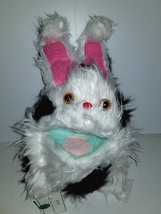 F5 * Professional White w/ Black Spots Muppet Style Ventriloquist Bunny Puppet - $15.00
