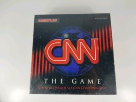 CNN The Game (1994 Gameplan) Vintage Board Game New SEALED - $10.39