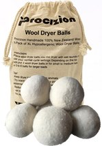 Wool Dryer Balls 6 Pack XL Made of 100% Premium, Organic Wool, Handmade,... - $240.00