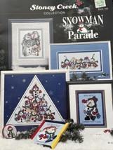 Snowman Parade Stoney Creek Collection Cross Stitch Pattern Book 159 New 1996 - $9.75