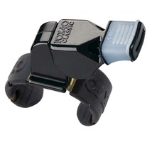 Fox 40 Classic CMG Fingergrip Whistle Black Referee Alert 100% Authentic - $9.99