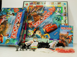 Disney Pixar Monopoly 2007 Complete Pewter Tokens Probably Never Played - $19.99