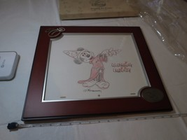 The Art of Disney Original Art Frame signed Celebrating Creativity Mickey Mouse - $257.39