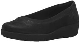 Easy Spirit Women's Kathleen Wedge Slip On,Black/Black Fabric,US 10.5 M - $63.90 CAD