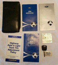 Ford Mustang Owner Manual User Guide 1996 FCS-12150-96 Maintenance Sched... - $78.19