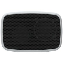 Ematic ESQ206SL Rugged Life NOIZE Bluetooth Speaker (Silver) - $37.91 CAD