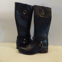 $159.00 Lauren Ralph Lauren Women's Mesa Riding Boots, Black, US 5,B - $84.15