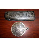 Singer 201 Face #45213 & Arm Side #125425 Plates w/Screws Eqypt Scroll Etchings - $20.00