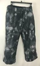 Boys Burton The White Collection Snowboard Pants Gray Size Medium (10-12) - $24.74