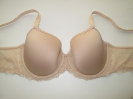 Wacoal 853255 Seduction Contour T-Shirt Underwire Bra Beige, Nude 32DD  MSRP $60 - $28.21