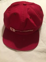Vintage Tonkin Patch Hat Foam Red Trucker Snapback Cap Baseball Made In USA - $15.93