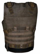 Fast and Furious 7 Luke Hobbs Leather Tactical Vest image 2