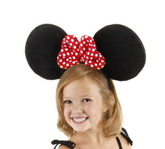 Minnie Mouse Oversized Ears, Headband & Polka-Dotted Bow Costume Accesso... - $17.41