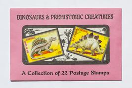 Dinosaurs & Prehistoric Creatures, 22 Postage Stamps, sealed in original... - $6.50