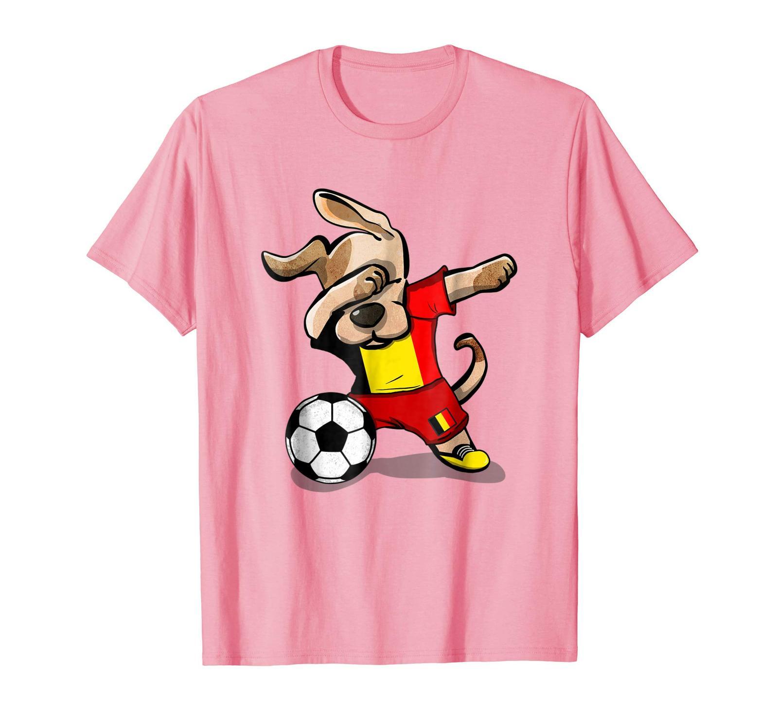 d7d4249b481 New Shirts - Dog Dabbing Soccer Belgium and 50 similar items