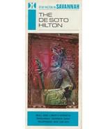 Vintage Travel Brochure The DeSoto Hilton Hotel Savannah Georgia 1960's ... - $9.89