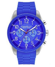 Mens Caravelle New York Bruce Chronograph Watch 43A121 - $43.12