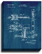 Come-along for Chains Patent Print Midnight Blue on Canvas - $39.95+
