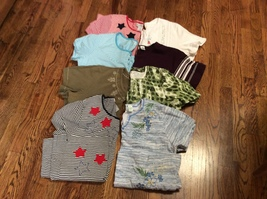 Large Lot of 8 Women's S/S tops Size XL & PXL - $30.00
