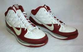 Nike Air Dream Sneakers White Red 375752-162 Mens Size 17 Basketball Sho... - $69.25