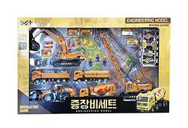 Bandi Toys Construction Heavy Equipment Vehicle Car Crane Forklift Dump Truck Ta
