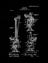 Lifting-jack Patent Print - Black Matte - $7.95+
