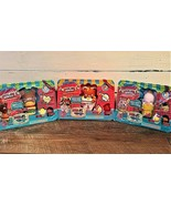 Smooshy Mushy BENTOS Series 2.... 3 PACK including  RILELY, LIBBY and H... - $22.77
