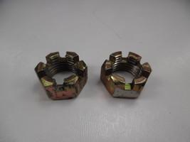 Front Wheel Spindle Nuts 1985 Lt230ge Suzuki Lt 230 Ge Quadrunner 08314-... - $9.95