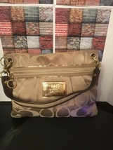 "COACH #15318 - Brown Signature ""C"" Poppy Tote! - $89.00"