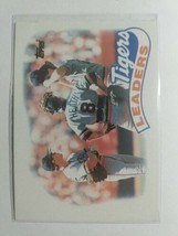 TOPPS1989CARD#609TIGERS LEADERS - $0.99