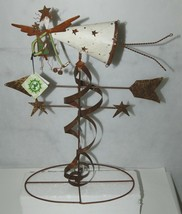 Care Wonder 13286 Angel Weather Vane 21 Inches Rusty Nail Collection image 1