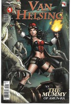 GFT VAN HELSING VS THE MUMMY OF AMUN RA #1 (OF 6) CVR D (Zenescope 2017) - $2.99