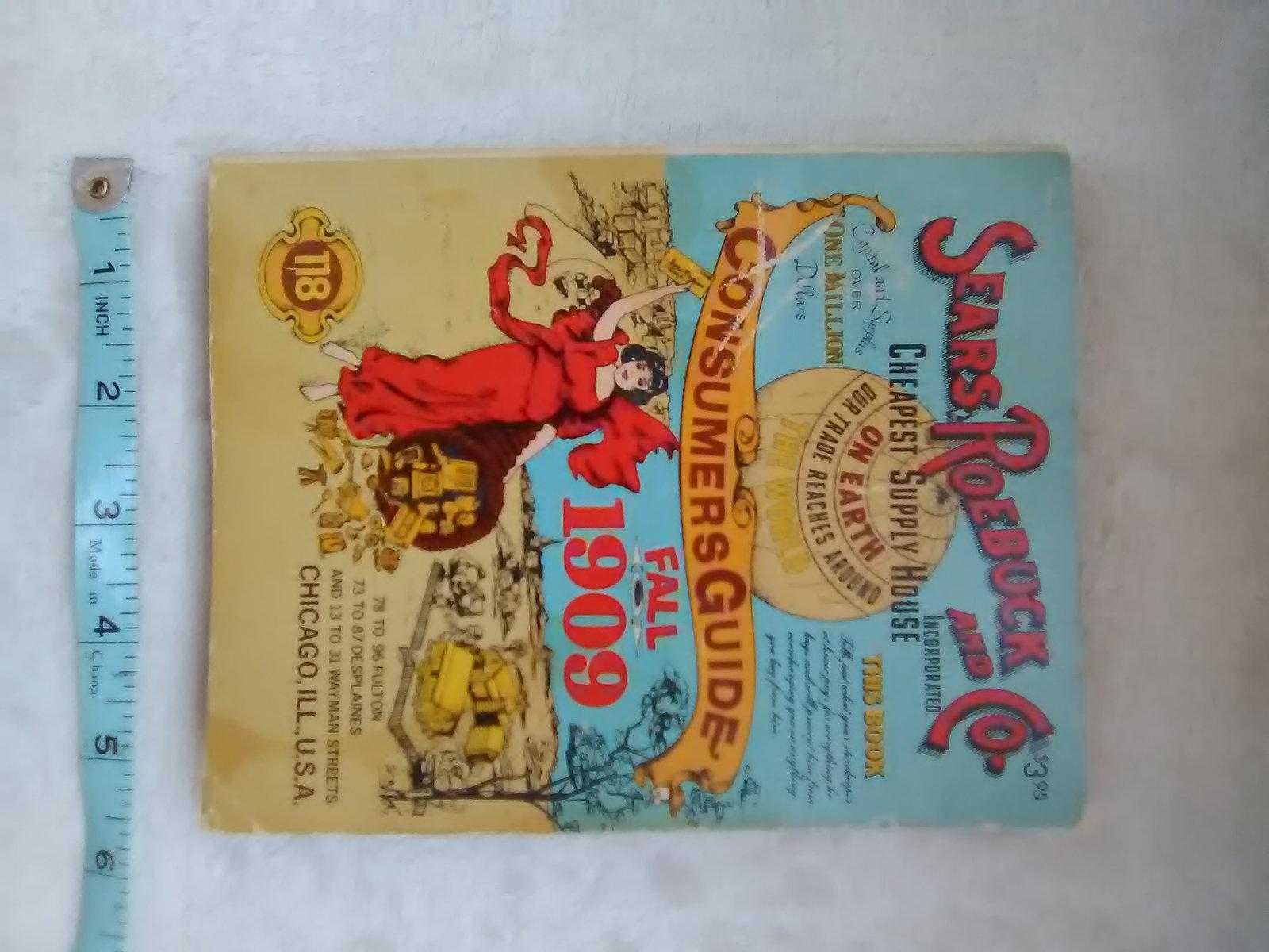 Sears Roebuck and Co. 1909 Catalog, Consumers Guide, Fall 1909 Ventura 887