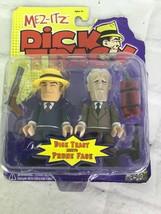 2003 Mezco Toys Mez-Itz Dick Tracy Meets Prune Face Action Figures Figur... - $27.71