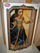 Disney Store Limited Edition TEAL Jasmine Doll 17'' NRFB in Shipper 2015 - $299.99