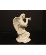 "Lenox Special Collection China 5"" Angel Blowing Trumpet Gold Trim - $16.90"