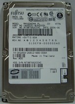 Fujitsu MHV2060AH 60GB 2.5in 9.5mm IDE 44PIN Drive Tested Good Our Drives Work