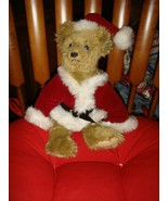 Annette Funicello Guisseppe Santa Holiday Plush Bear - $41.99