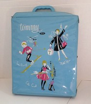 Vintage Ideal Tammy Blue Doll Case 1960's Model Miss Snow Bunny Graphics - $20.00