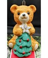 1990 Hallmark Keepsake Ornament ~ Cinnamon Bear ~ Porcelain Bear Series #8 - $7.91