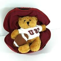 Plushland USC South Carolina Plush Football March of Dimes Teddy Bear Re... - $12.86