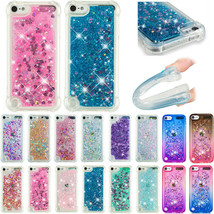For iPod Touch 5/6/7th Gen 2019 Shockproof Glitter Quicksand Soft TPU Ca... - $55.52